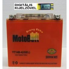 Motobatt Bike bull DS I-GEL 12V 12Ah YT14B-4