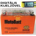 Motobatt Bike bull DS I-GEL 12V 9,5Ah YTX12A-BS