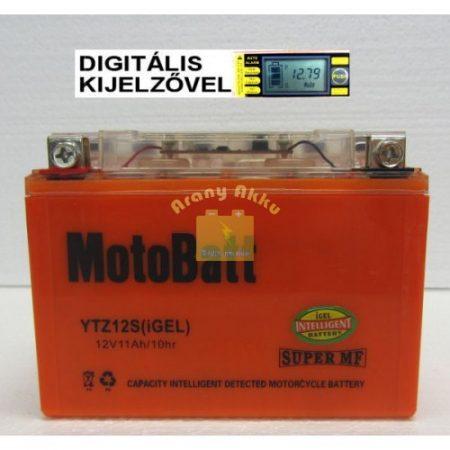 Motobatt Bike bull DS I-GEL 12V 11Ah YTZ12-S