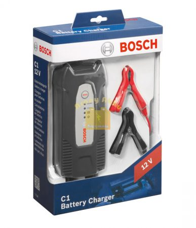 BOSCH C1 12V 3,5A akkumulátor töltő
