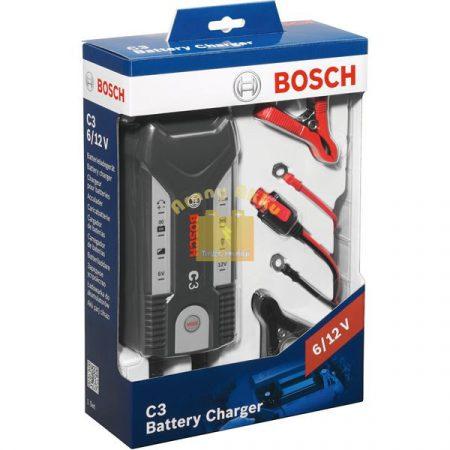 BOSCH C3 6/12V 3,8A akkumulátor töltő