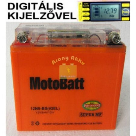 Motobatt Bike bull DS I-GEL 12V 9Ah 12N9-BS
