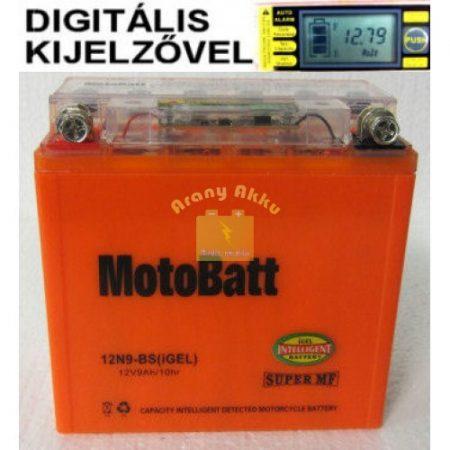 Motobatt Bike bull DS I-GEL 12V 9Ah 12N9-BS motor akkumulátor