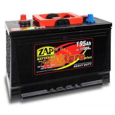 ZAP  6V 195Ah 1100A Jobb+