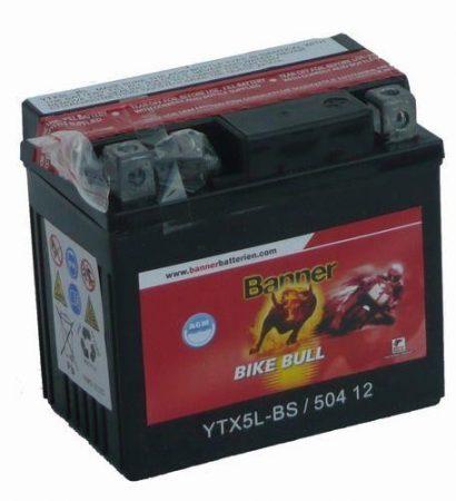 Banner Bike bull AGM 12V 4Ah  YTX5L-BS
