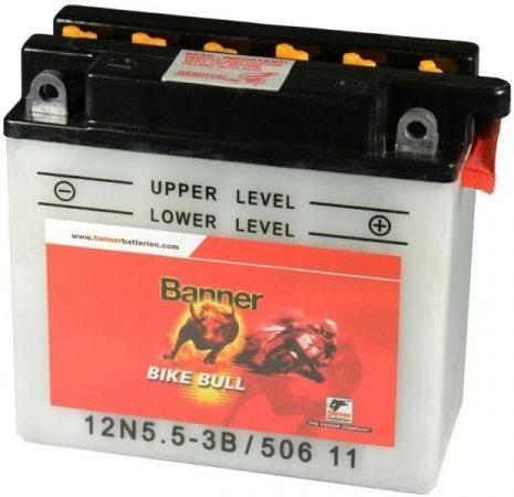 Banner Bike bull 12V 6Ah 12N5,5-3B motor akkumulátor