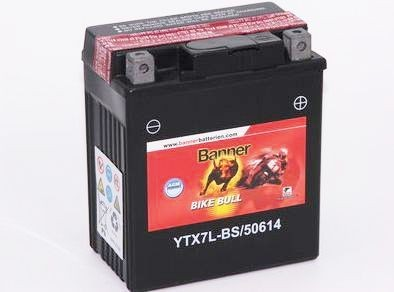 Banner Bike bull AGM 12V 6Ah YTX7L-BS motor akkumulátor