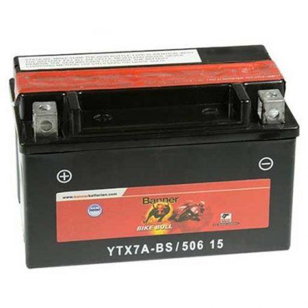 Banner Bike bull AGM 12V 6Ah  YTX7A-BS motor akkumulátor