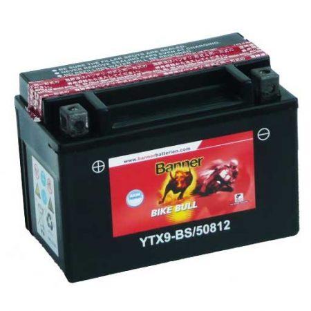 Banner Bike bull AGM 12V 8Ah  YTX9-BS motor akkumulátor