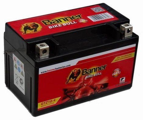 Banner Bike bull GEL 12V 9Ah  GTZ10-4 motor akkumulátor