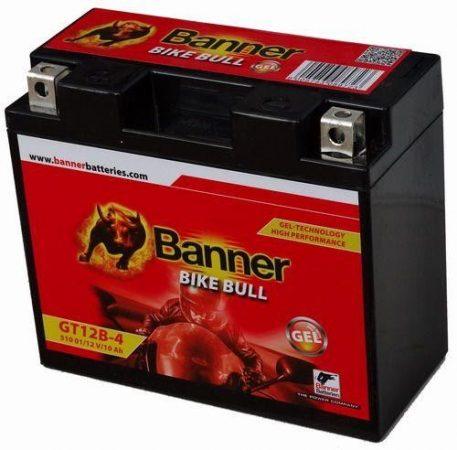 Banner Bike bull GEL 12V 10Ah  GT12B-4 motor akkumulátor