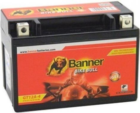 Banner Bike bull GEL 12V 10Ah  GT12A-4 motor akkumulátor