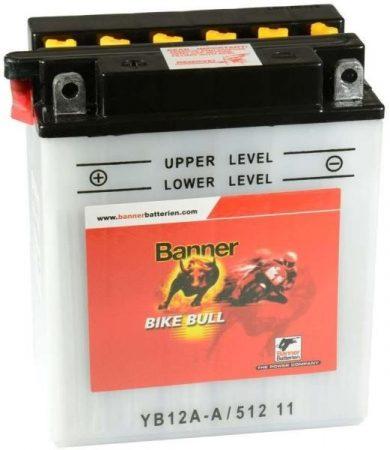 Banner Bike bull 12V 12Ah YB12A-A motor akkumulátor