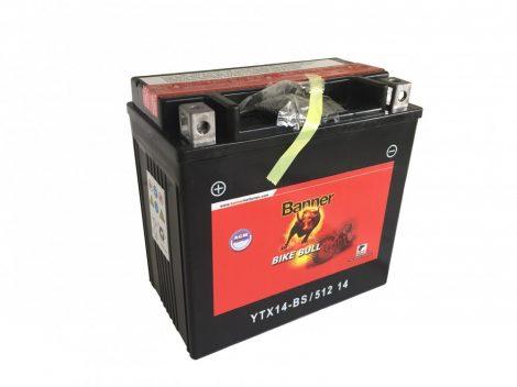 Banner Bike bull AGM 12V 12Ah  YTX14-BS motor akkumulátor