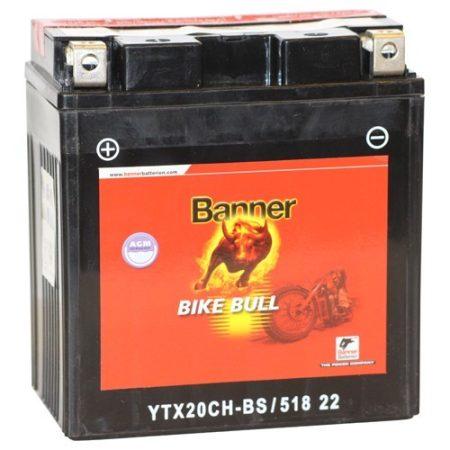 Banner Bike bull AGM 12V 18Ah  YTX20CH-BS