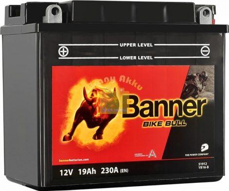 Banner Bike bull 12V 19Ah YB16-B motor akkumulátor