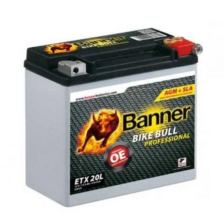 Banner Bike bull AGM Professional 12V 18Ah  ETX 20L motor akkumulátor