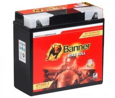 Banner Bike bull GEL 12V 19Ah  GT20H-3 motor akkumulátor