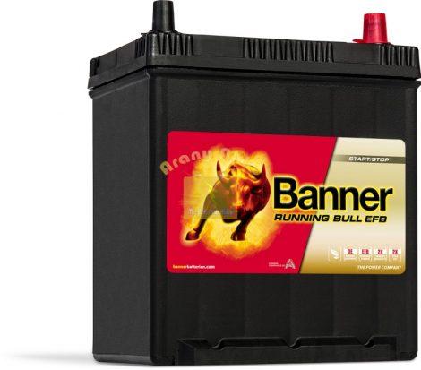 Banner Running Bull EFB 38Ah 400A Jobb+ akkumulátor