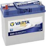 VARTA Blue Dynamic 12V 45Ah 330A ASIA bal+ akkumulátor
