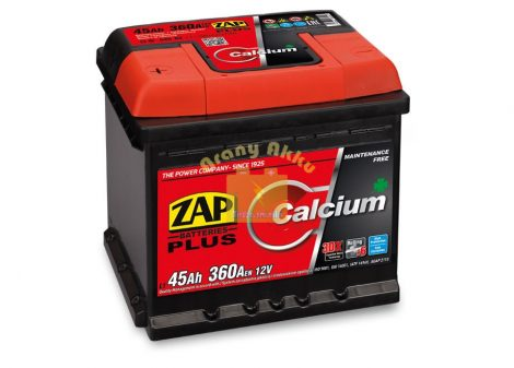 ZAP Plus 45Ah 370A Bal+
