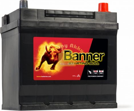 BANNER Starting Bull 12V 45Ah 300A akkumulátor Asia