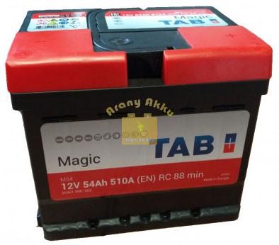 TAB Magic Autó akkumulátor 12V 54Ah 510A