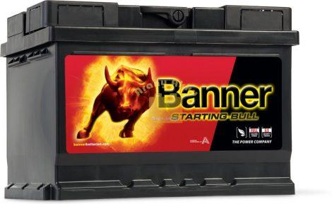Banner Starting Bull 55Ah 450A Jobb+ akkumulátor