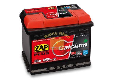 ZAP Plus 55Ah 460A bal+