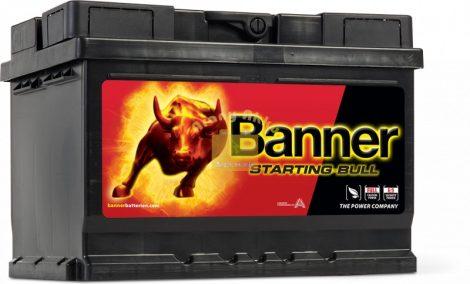 BANNER Starting Bull 12V 60Ah 480A akkumulátor