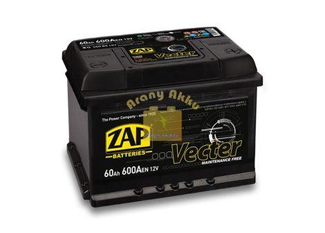 ZAP Vecter 60Ah 600A jobb+