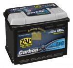 ZAP Graphite Carbon EFB 62Ah 550A Jobb+