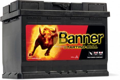 BANNER Starting Bull 12V 62Ah 510A akkumulátor