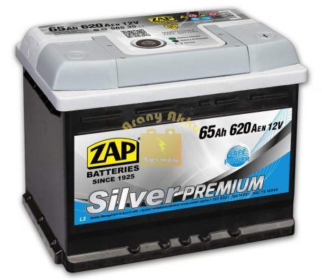 ZAP Silver Premium 65Ah 620A Jobb+