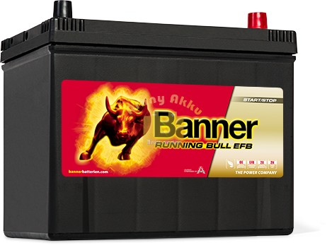 Banner Running Bull EFB 70Ah 680A Jobb+ ASIA akkumulátor