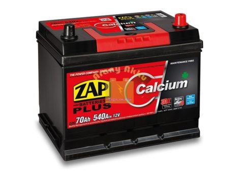 ZAP Plus 70Ah 540A Jobb+ Japán