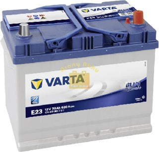VARTA Blue Dynamic 12V 70Ah 630A ASIA akkumulátor