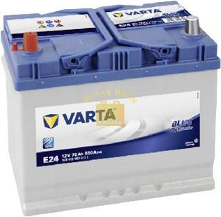 VARTA Blue Dynamic 12V 70Ah 630A ASIA bal+ akkumulátor