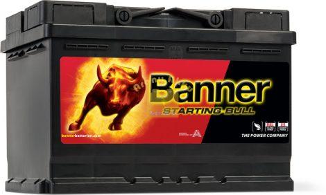 BANNER Starting Bull 12V 70Ah 640A akkumulátor