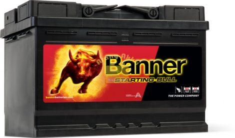 BANNER Starting Bull 12V 72Ah 650A bal+ akkumulátor
