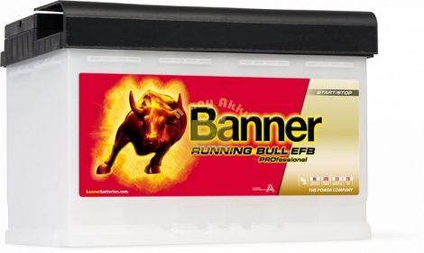 BANNER Running Bull EFB Professional 12V 75Ah 700A akkumulátor