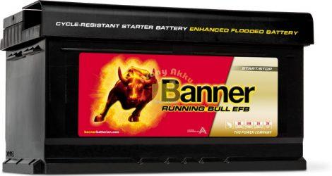 BANNER Running Bull EFB 12V 75Ah 730A akkumulátor