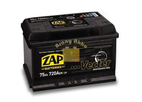 ZAP Vecter 75Ah 720A Jobb+