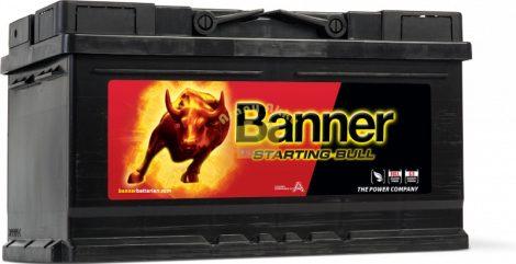 BANNER Starting Bull 12V 80Ah 660A akkumulátor