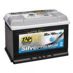 ZAP Silver Premium 80Ah 760A Jobb+