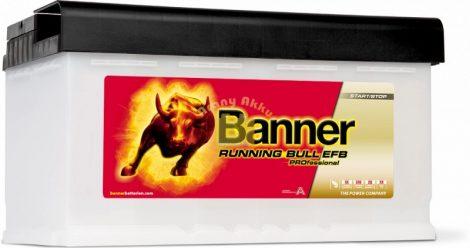 BANNER Running Bull EFB Professional 12V 85Ah 780A akkumulátor