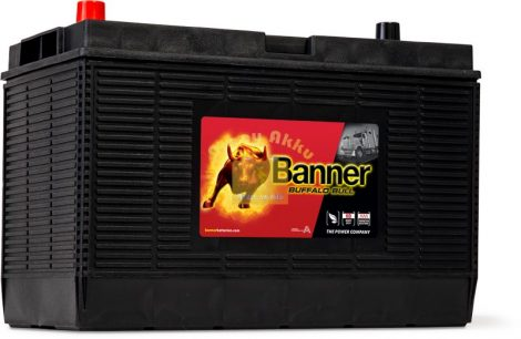 BANNER Buffalo Bull 12V 110Ah 800A jobb+  teherautó akkumulátor