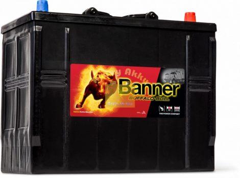 BANNER Buffalo Bull 12V 125Ah 760A  teherautó akkumulátor