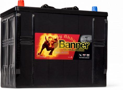 BANNER Buffalo Bull 12V 125Ah 760A bal+  teherautó akkumulátor