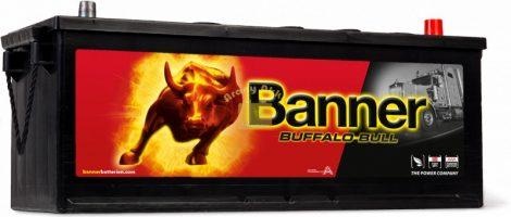 Banner Buffalo Bull 12V 132Ah 900A Jobb+ 63211 teherautó akkumulátor
